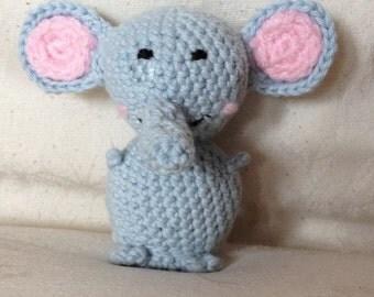 Elephant amigurumi-Peluche