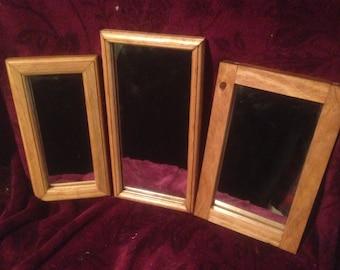 Custom Handmade Small Framed Mirror