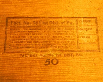 Jay Bee Corona Cigar Box