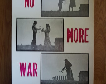 no more war poster