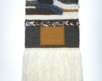 Retro Style Woven Wall Hanging