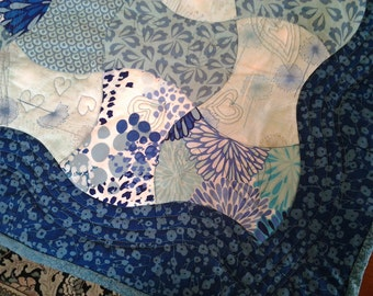 Sample Custom Handmade Wedding Quilt