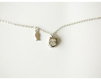 lovely cat necklace