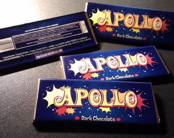APOLLO CANDY BARS- Lost tv show and Once upon a time