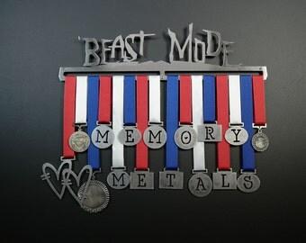 Medal Holder ,Medal Display ,Medal Hanger,Beast Mode