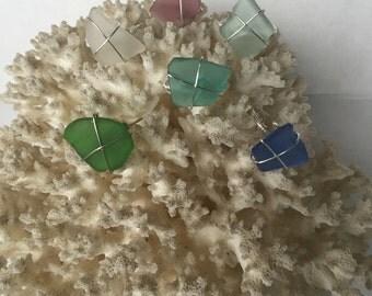 Custom Handmade Seaglass Rings