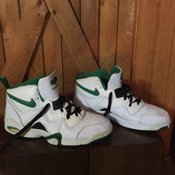 sale retailer be10e 0b186 Vintage Nike Basketball Shoes 1994 Air Pound by Herewegoagainhoney cheap