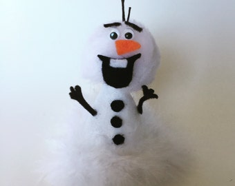 Olaf Frozen Birthday - Olaf party hat - mini party hat - Olaf birthday hat - Frozen