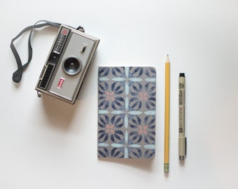 Pocket Note Book - Small Moleskine - Hand Painted Journal