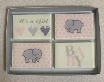 Baby Girl Soap Gift Set