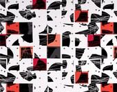 Avant Garde Cut-Ups Fabric by Katarina Roccella for Art Gallery Fabrics