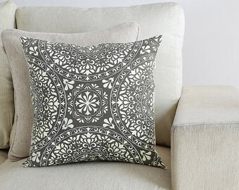 Oriental Pattern Printed Pillow Cover,Throw Pillow,Cushion Cover,Decorative Pillow Cover,Handmade Pillow,16 x 16 Pillow cover