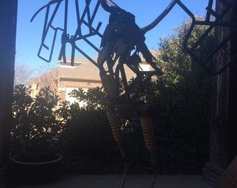 Egret sculpture