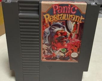 Panic Restaurant Nes game