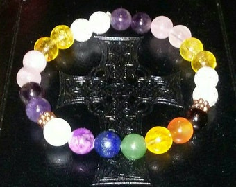 Reiki Infused Chakra Healing Bracelet - Aches and Pains