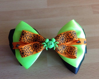 Mickey mouse spider Mickey's not so scary halloween party regular hair bow