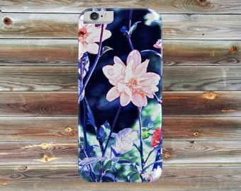 blue and pink i phone 6s cover