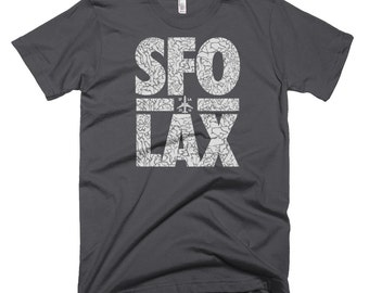 Travel T Shirt, Mens Travel Shirts, Jetsetter T Shirt, Sfo T Shirt, Lax T Shirt, Travel Tee, Sfo Lax, Plane T Shirt, Startup T Shirt