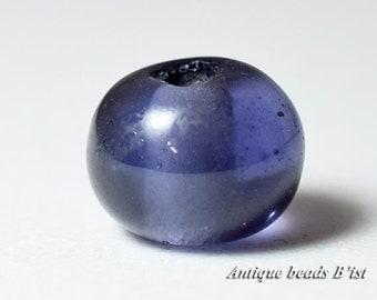 Japanease small edo glass beads with Semitransparent rose flatness round shape type【free shipping】 【ZB16009-8】