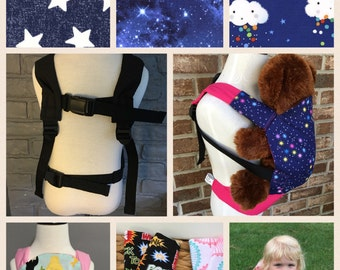Mini Me Carrier (Tula Inspired baby doll Carrier) Tula Accessories, Mini Tula, Mini Kinderpack