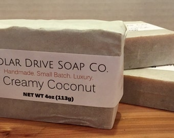 Creamy Coconut Handmade Soap