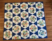 Modern Quilt in Thimbleblossoms Starlight Pattern