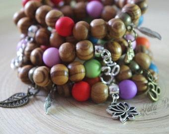 yoga bracelet wood