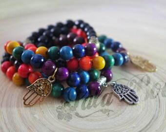 yoga chakras bracelet