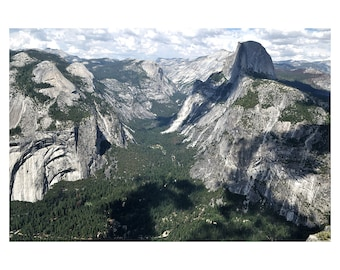 Yosemite National Park,  California, Sierra Nevada Mountains, Skyline, Nature, Forests, United States