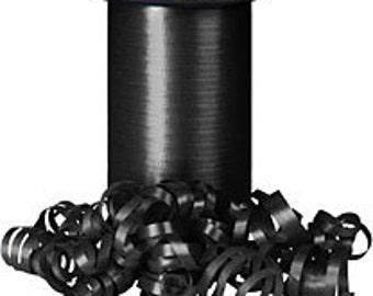 Black curling ribbon    (18-S-123)