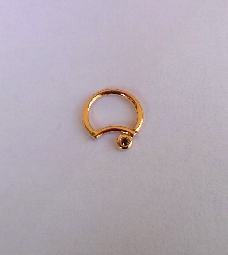 septum ring nose ring 16g septum jewelry septum nose ring