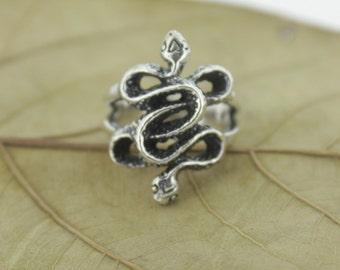 925 Sterling Silver Snake Ring