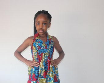 African dress for 7-8 year old