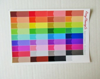Appointment Labels **Multi Colored Planner Stickers**