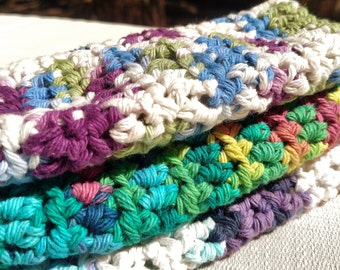 Crochet Cotton Washcloth