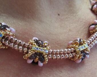 KIT diy necklace BUTTERFLY