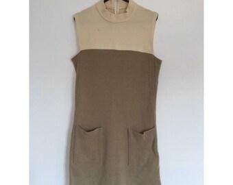 Vintage 60s A-line Shift Dress