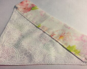 Dog Bandana - Free Shipping-  Over the collar - Floral Print - Small Size