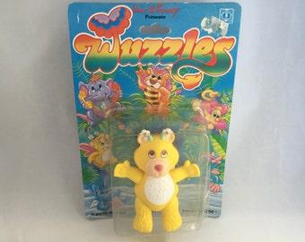 Disney Wuzzles Butterbear Poseable Figure MOC 1985