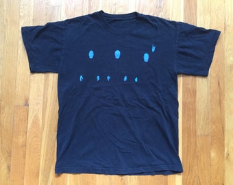 Vintage Blue Man Group tshirt size S(?) black
