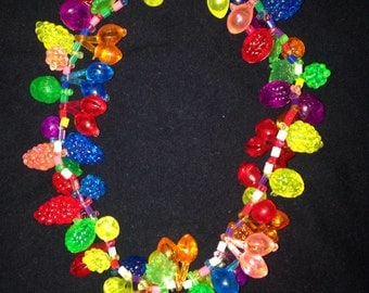 80s charm necklace