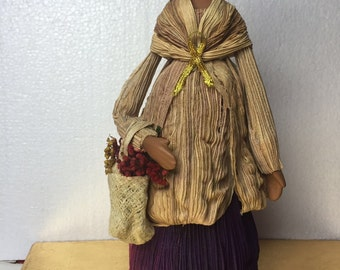 Corn refined doll ornament