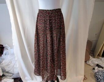 Sheer Festival Skirt