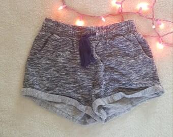 90's cotton drawstring shorts