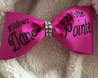 Without Dance Ehats the Pointe
