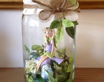 Fairy in jar