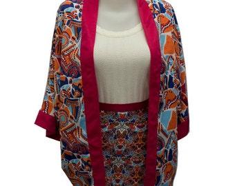 Customizable printed kimono jacket collection 2016