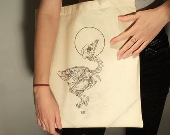 TOTE BAG - The bird-