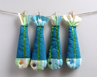 Extra Fish - Fabric Fish - For Magnetic Fishing Game