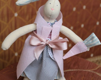 "Rabbit-girl doll. Love of Rabbit from ""Alice in Wonderland"""